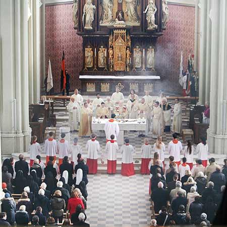 Eröffnung Heilig-Kreuz-Kirche in München - Giesing
