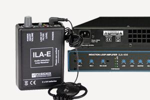 Induktionsschleifen-Verstaerker Induction loop amplifier