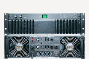 PA-Endverstaerker pa power amplifier