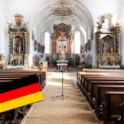 Pfarrkirche Mariae Verkuendigung in Welden-Phoenix Pa-Kirchenbeschallung-miniatur