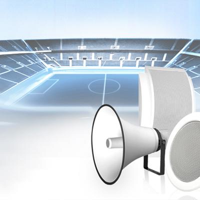 Akustische Simulation für das EM Fussballstadion in Wroclaw, Polen