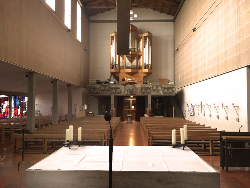 Church Acoustics Reference City Church St Caecilia In