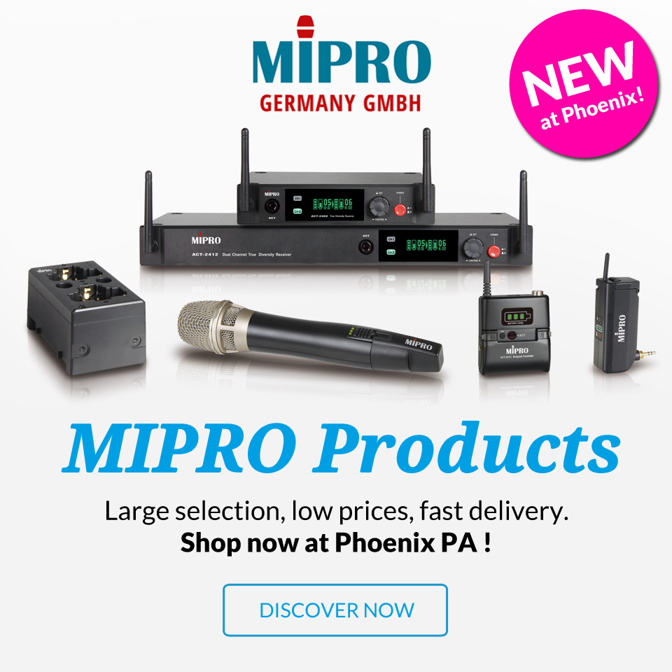 mipro products sound systems