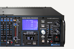 Automatik-Mischverstaerker Automatic mixing amplifier