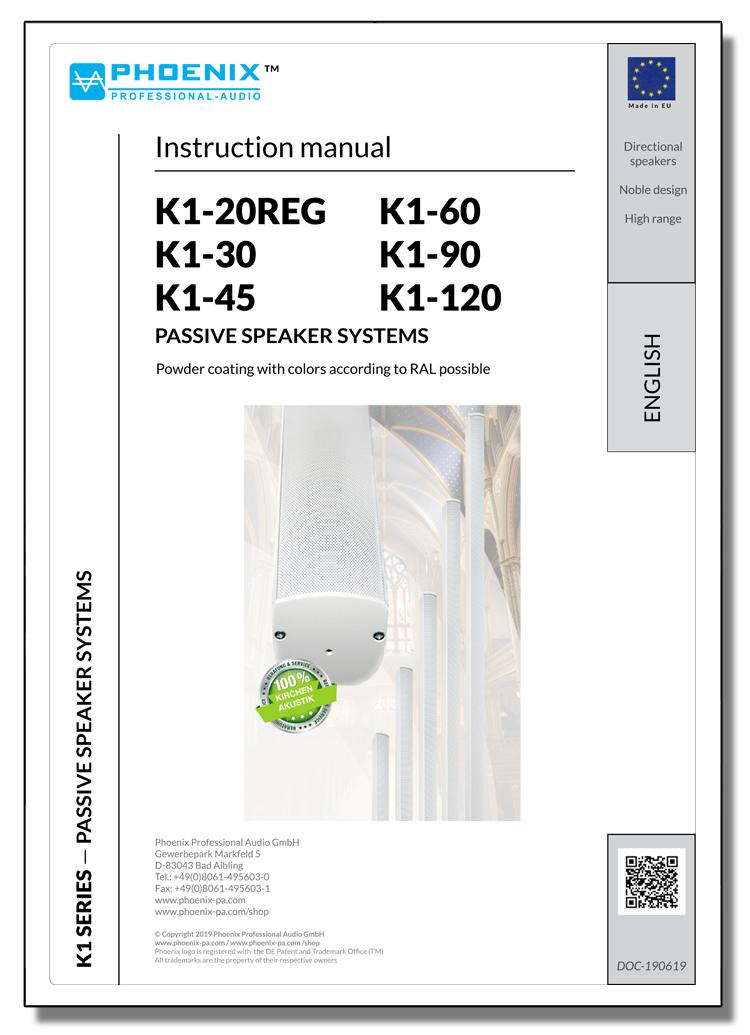 Buy Professional Sound Columns K1-90 | Phoenix PA